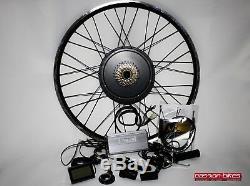 Kit E-bike / Pedelec Umbausatz 1500 W Heck Moteur 28/29 Affichage Shimano
