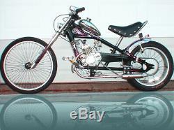 Kit Moteur Gaz Schwinn Chopper Moteur Pour Un Occ Stingray Noir Velo Bike