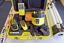 Kit Niveau Laser Avec Des Travaux Au Sol Rotary Laser Et À L'intérieur Crossline + Trépied / Personnel