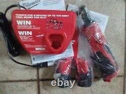 Kit Sans Fil Milwaukee M12 3/8 Avec 2 Piles + Chargeur 2457-22