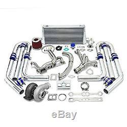 Kit Sbc De Bloc Compact Chevy De Mise À Niveau De Haute Performance Gt45 T4 10pc Turbo