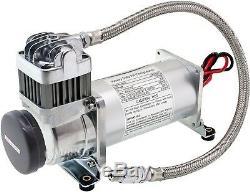 Kit Système Intégré De Compresseur De Réservoir De 200 Gal / 200 Psi Pour La Corne De Train 12v Vxo8350