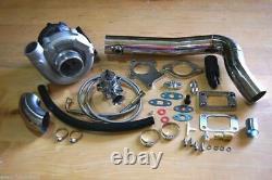 Kit Turbocompresseur Hybride T3/t4 T3 T4 Turbo -4an Line Kit, Sous-pipe Ss Kit, Bov