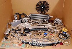 Kit Twin Turbo Sbc Blazer Gmc Chevy Tahoe 305 350 5.7l 1500 Silverado Sierra Nouveau