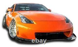 Kits De Carrosserie Kbd N3-r 1 Pc Bumper Avant En Polyuréthane Pour Nissan 350z 2003-2008