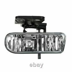 Lampe Frontale Corner Parking Fog Driving Light Set Kit Pour Gmc Sierra Yukon