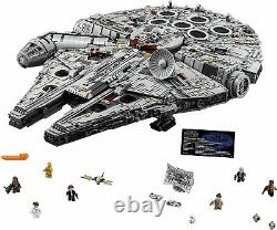 Lego 75192 Star Wars Millennium Falcon 7541 Pièces De Construction Kit Et Vaisseau
