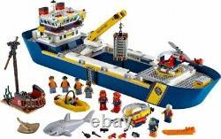 Lego City Ocean Exploration Ship (60266) Kit De Construction 745 Pcs