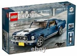 Lego Creator Expert Ford Mustang Gt Set (10265) Limited Edition Building Kit Nouveau
