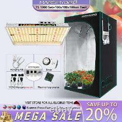 Mars Hydro Ts 1000w Set Led Grow Light Pour Les Plantes+3'x3' Kits De Tentes De Culture Intérieure
