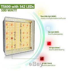 Mars Hydro Ts 600w Led Grow Light + Filtre Au Charbon Actif Combo + Cultivez Tente Kit Complet