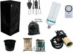 Meilleur Complet Hydroponique Petit Cultivez Chambre Tente Canna Cfl Light Kit 40x40x140