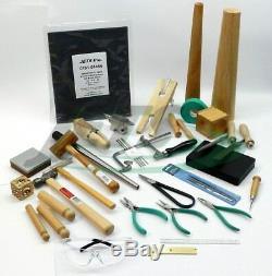 Metalsmith Tools Kit Débutants - Apprenti Metalsmithing Ensemble D'outils De Fabrication De Bijoux