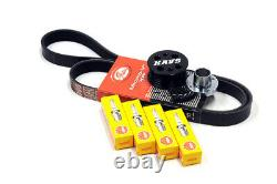 Mini Cooper S R52 R53 Supercharger Pulley Kit Belt Plugs Kavs 17% / Ngk Bcr8es