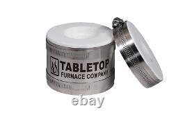 Mini Propane Pro Kit De Fusion De Four À Four Or Silver Copper Metal Scrap