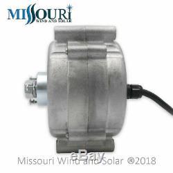 Missouri Freedom 12 Volt 1600 Watt 5 Lame Éolienne Générateur Kit Gris