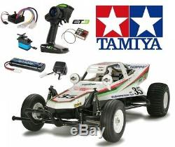 Négociation Paquet Tamiya 58346 Le Grasshopper Rc Kit Deal Avec Paquet Et3 Radio