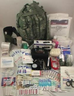 Niveau 3 Premiers Soins Militaire Survivant Tactique Trauma Kit D'urgence Médicale Du Nouveau