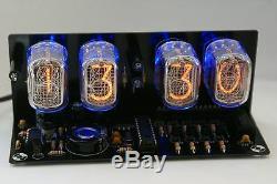 Nixie Tube Kit D'horloge Avec Alarme Led In-12 Noire