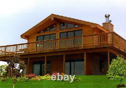 Northridge I 24 X 32 Personnalisable Kit Shell Maison, Livré Prêt À Construire