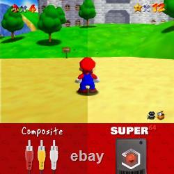 Nouveau Eon Super 64 Adaptateur Hd Pour Nintendo 64 Plug & Play Comme Ultra 64 Kit