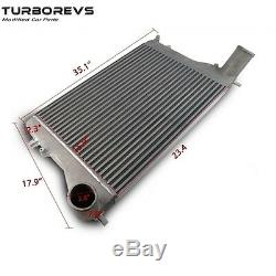 Nouveau Grand Intercooler Montage Avant En Alliage Kit Pour Upgraded Audi A3 Vw Golf Passat