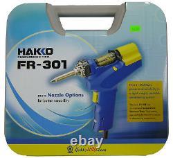 Nouveau Hakko Fr301-03/p Desoldering Gun Tool Fr-301 Remplace Fr-300 Fr300-05/p