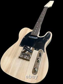 Nouveau Kit De Construction De Projet De Guitare Électrique De Type Tele-style 6 Cordes
