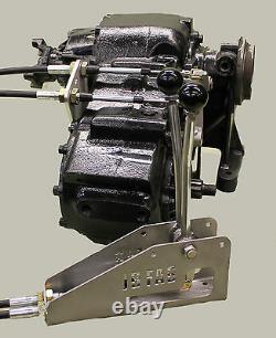 Np-205 Gm Twinstick Transfer Case Shifters Kit De Commutateurs De Câble En Acier Inoxydable Pn Csbgy48 205gm