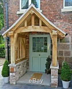 Oak Porche, Doorway, Porche En Bois, Dais, Entrée, Kit D'auto-construction, Porche