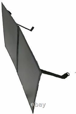Panneau Solaire Pliant Monocristallin 100w Kit Sac De Câbles Léger