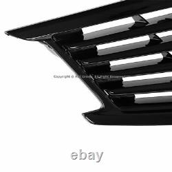 Pare-chocs Avant Glossy Black Grille Pour Infiniti 10-13 G37 11-12 G25 2015 Q40 Berline