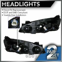 Phares Projecteurs À Signal Ambre Paire Gauche Et Droite Pour 05-10 Pontiac G6
