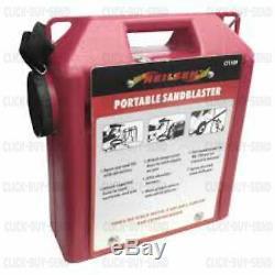 Portable 30 Lb Air Sableuse Kit Air Blaster Sable Blaster Kit Blasting Nouveau