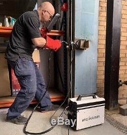 Portable Mig Welder 130 Sans Gaz Amp Auto Flux Dévidage Machine De Soudure Kit 240v