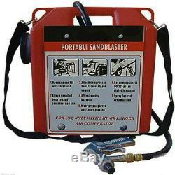 Portable Sandblaster Sable Blaster Sablage Kit Pistolet Capacité 30lb