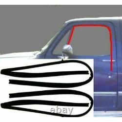 Porte Weatherstrip Rubber Seal Kit 12 Pc Set Pour 73-80 Chevy Gmc Pickup Truck