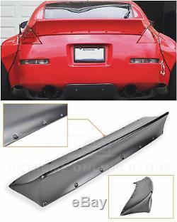 Pour 03-08 Nissan 350z Lapin Style Primaire Noir Ducktail Du Coffre Arrière Couvercle Spoiler