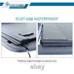 Pour 2014-2018 Silverado/sierra 5.8ft Bed Tonneau Cover Retractable Waterproof