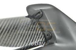 Pour 96-00 Honda CIVIC Hatchback Seeker V2 Arrière En Fibre De Carbone Toit Aile Aileron