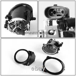 Pour 99-06 E46 3series Non-m M3 Style Remplacement Front Bumper Body Kit+fog Light
