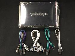 Pour Harley Motos Stereo Power Amp. 4ch 300 Watts Kit Bike Eletronics Fits