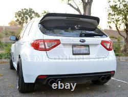 Pour Subaru Wrx 08-14 & Sti Add-on Aileron Arrière Toit Aile Gurney Flap Extension