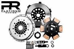 Prc Stage 3 Hd Clutch Kit+lightened Flywheel Pour 92-98 Bmw 325 328 E36 M50 M52