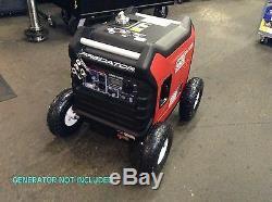 Predator 3500 Watt Générateur Allterrain 10 Roue Kit Avec Pneumatique Blocage Hub