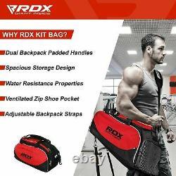 Rdx Gym Sports Kit Sac Holdall Sac À Dos Duffle Fitness Training Travel Rucksack