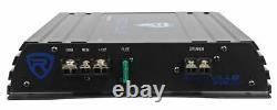 Rockville Rv8.1a 400w 8 Loadd Car Subwoofer Enclosure+amplifieur Mono+amp Kit