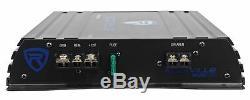 Rockville Rv8.2a 800 Watt Double 8 Caisson De Graves Enceinte + Mono Amplificateur + Amp Kit