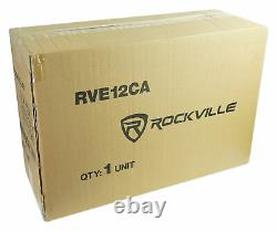 Rockville Rve12ca 12 1400w Subwoofer Subwoofer Subclosure+kit
