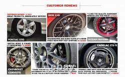 Rotors De Frein Arrière Avant Et Plaquettes De Frein Dodge Ram 1500 Rotors Forés Pad 5 Lug